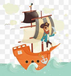 Piracy And Sailing - Visual Arts Drawing Illustrator Illustration PNG