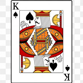 King Of Spades - King Of Clubs Playing Card King Of Spades Clip Art PNG