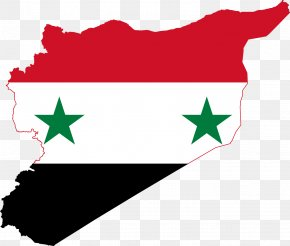 Greece - Flag Of Syria National Flag Map PNG