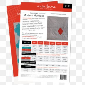 Morocco Pattern - Paper Quilt Morocco Textile Coloring Book PNG