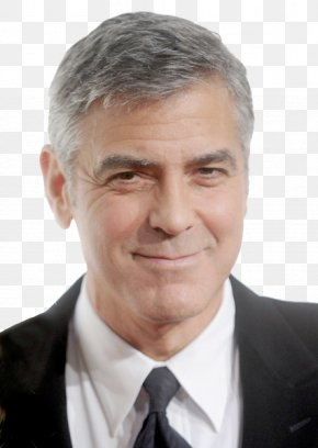 George Clooney File - Hairstyle Man Short Hair Long Hair PNG