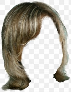 Hairstyle - Wig Hairstyle Long Hair PNG