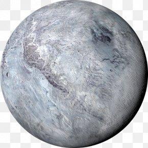 Solar System Scope - Earth Eris Dwarf Planet Solar System PNG
