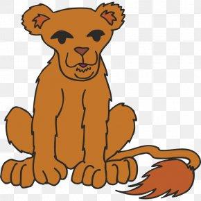 Lion - Lion Cat Cartoon Clip Art PNG