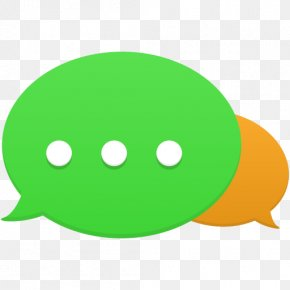 Communication - Smiley Green PNG