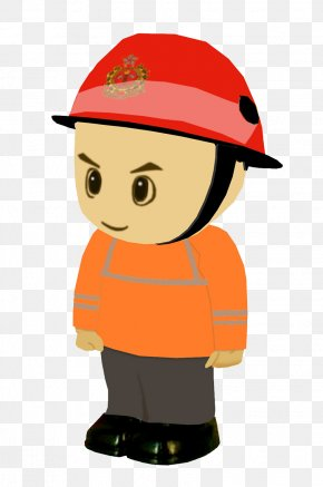 Fireman With Helmet - Firefighter Firefighting Emergency Medical Technician Ambulance PNG