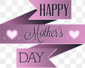Vector Mother's Day Purple Origami Border - Euclidean Vector Mother's Day PNG