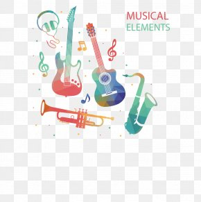 Color Geometric Instruments Vector Material - Musical Instrument Clip Art PNG