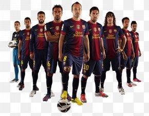 Team - FC Barcelona La Liga Football Team Football Team PNG