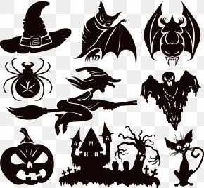Halloween Elements - Halloween Royalty-free Clip Art PNG