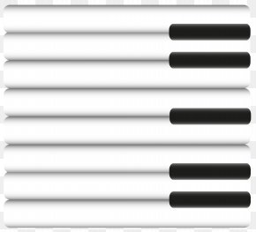 Piano Keys Clipart - Black And White Piano Musical Keyboard PNG