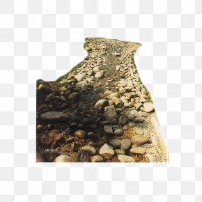 Stone Design Garden Material - English Landscape Garden Architectural Rendering PNG