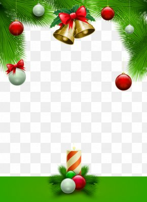 Christmas Frame Photos - Santa Claus Christmas Card Picture Frame PNG