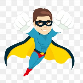 Flying Super Hero - Superhero Stock Photography Royalty-free Stock Illustration PNG