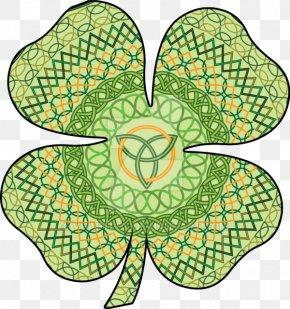 Saint Patrick's Day - Four-leaf Clover Saint Patrick's Day Celtic Knot Celts Irish People PNG