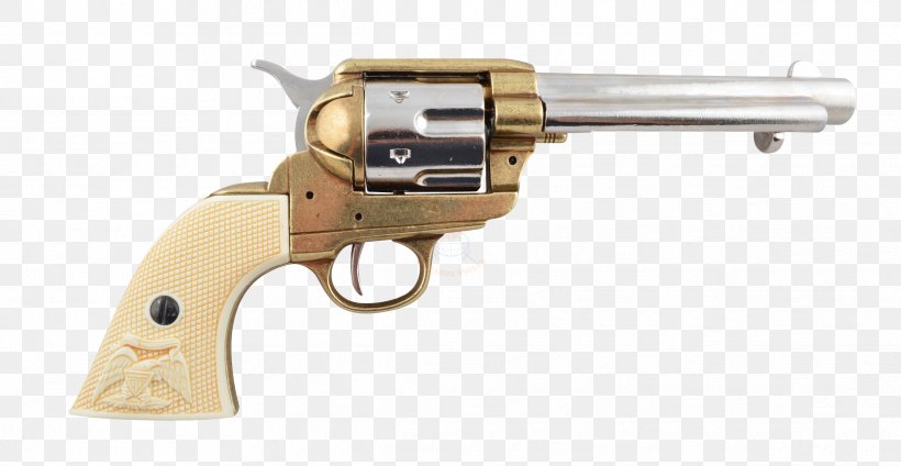 Revolver Firearm Colt Single Action Army Colt's Manufacturing Company Pistol, PNG, 2433x1260px, 45 Acp, Revolver, Air Gun, Caliber, Colt 1851 Navy Revolver Download Free