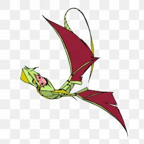 Fly A Kite In The Air - Dragon Leaf Flowering Plant Clip Art PNG