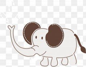 Vector Cute Elephant - Elephant Euclidean Vector PNG