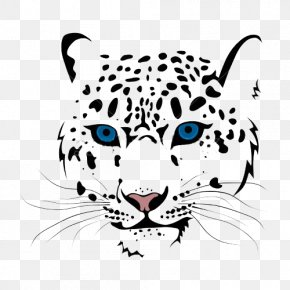 Snow Leopard Head Picture Cartoon Picture - Lake Middle School Student Darby Creek Elementary School LIC Kids Gymnastics PNG