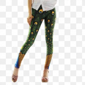 Peacock - Leggings Clothing Pants Tights Jeans PNG