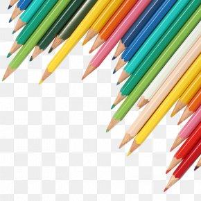 Books Banner Cliparts - Colored Pencil Clip Art PNG