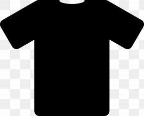 Black T-shirt Image - T-shirt Polo Shirt Black Clip Art PNG