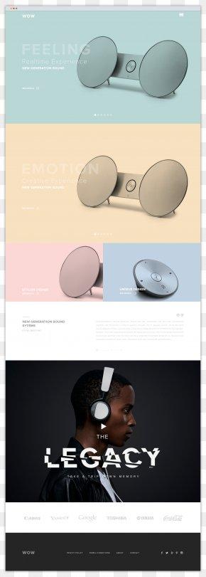 Behance - Web Design Page Layout Industrial Design PNG