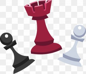 Chess - Chess Piece King Rook Game PNG