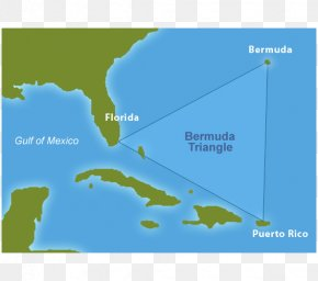 United States - The Bermuda Triangle Mystery Solved United States Map PNG