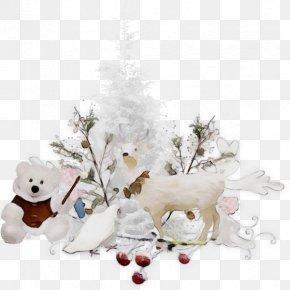 Interior Design Teddy Bear - Christmas Tree PNG