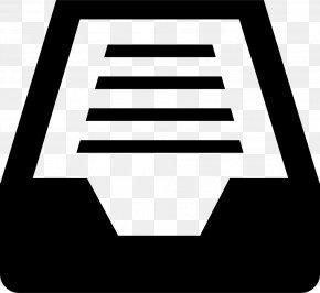 Symbol - Image Black And White Logo PNG