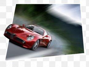 Sports Car - Sports Car Alfa Romeo 8C Competizione PNG