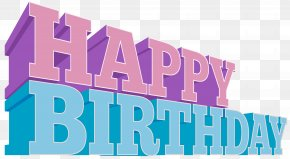 Happy Birthday Clip Art Image - Birthday Cake Wish Clip Art PNG
