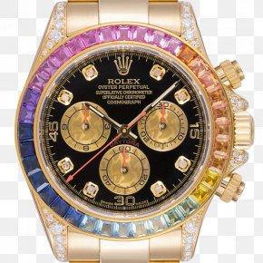 Rolex - Rolex Daytona Watch Gold Rolex Oyster Perpetual Cosmograph Daytona PNG