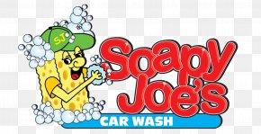 Car Wash Logo - Soapy Joe's Car Wash Brand Logo West Street PNG