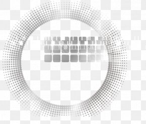 Digital Technology Geometric Circle - White Circle Graphic Design Brand PNG