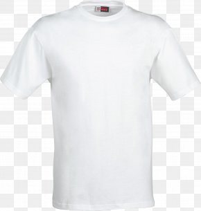 White T-shirt Image - T-shirt Sweater Clothing Crew Neck PNG