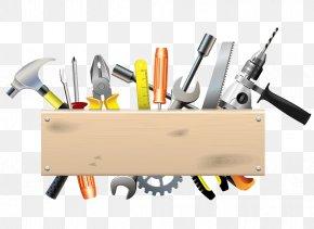 Cartoon Hardware Tools - Tool DIY Store PNG