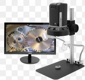 Microscope - Digital Microscope Magnification Optical Microscope HDMI PNG