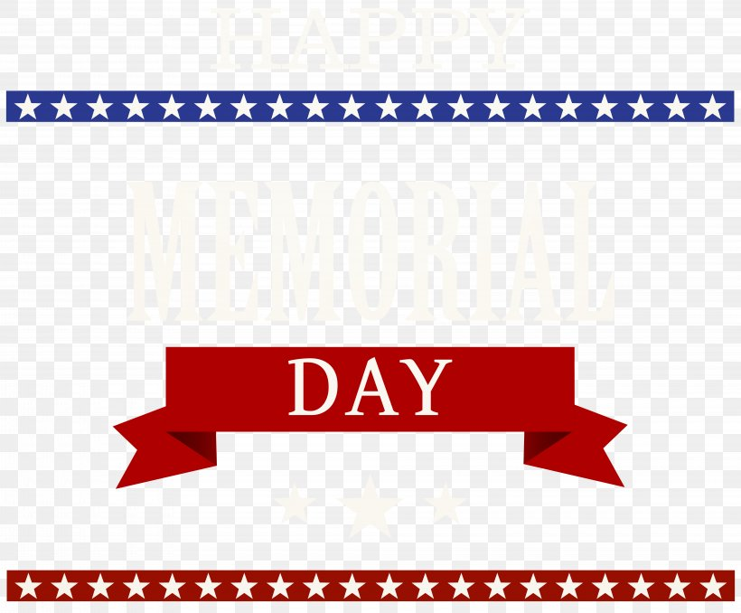 Memorial Day Clip Art, PNG, 8000x6623px, Memorial Day, Area, Brand, Logo, Paper Download Free
