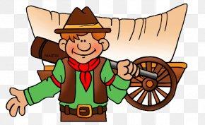 Oregon Trail Cliparts - Oregon Trail Covered Wagon American Pioneer Clip Art PNG