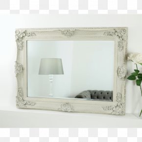 Mirror - Picture Frames Shabby Chic Mirror Interior Design Services PNG
