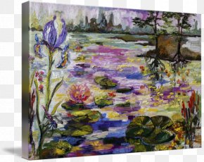 Paint - Watercolor Painting Modern Art Acrylic Paint Meadow PNG