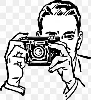Old People - Photographic Film Camera Photography Clip Art PNG