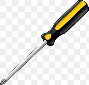 Phillips Screwdriver - Screwdriver Tool Clip Art PNG