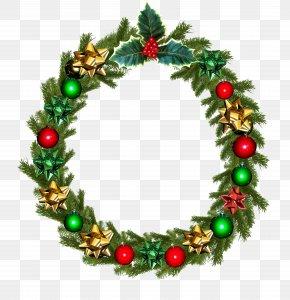 Garland - Christmas Card Wreath Wedding Invitation Clip Art PNG
