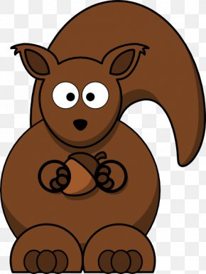 Nuts Cliparts - Squirrel Cartoon Chipmunk Clip Art PNG