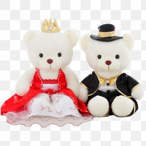 Wedding Doll Wedding Suit - Wedding Marriage Doll Suit PNG