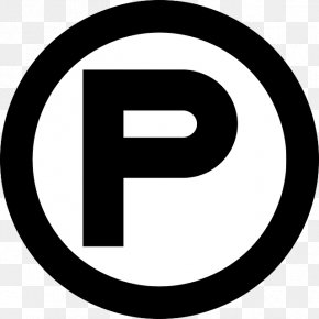 Letter P - United States Patent And Trademark Office Registered Trademark Symbol Clip Art PNG