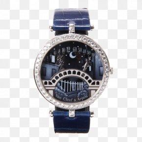 Van Cleef & Arpels Poetic Watches Watches - Watch Strap Van Cleef & Arpels Watch Strap Clock PNG